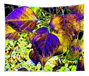 Lavish Leaves 3 Tapestry