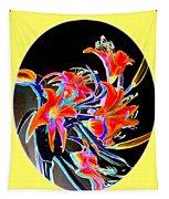 Lavish Lilies 2 Tapestry