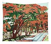 Lawson Avenue Flamboyants Tapestry