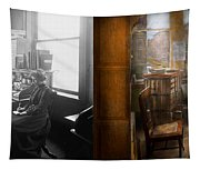 Lawyer - Always Taking Notes - 1902 - Side By Side Tapestry