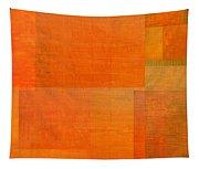 Layer Study - Orange Tapestry