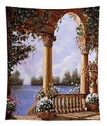 Le Arcate Chiuse Sul Lago Tapestry
