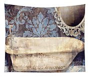 Le Bain Paris Blue Tapestry