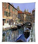 Le Barche Sul Canale Tapestry