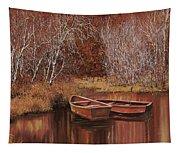 Le Barche Sullo Stagno Tapestry