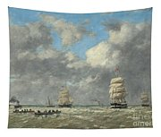 Le Havre, 1883 Tapestry