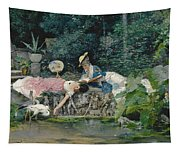 Le Heron Familier Tapestry