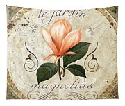 Le Jardin Magnolias Tapestry