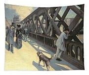 Le Pont De L'europe Tapestry