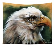 Leather Eagle Tapestry