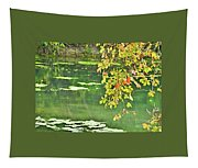 Leaves And Water Tapestry