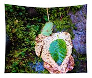 Leaves In A Pile Tapestry