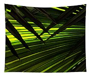 Leaves Of Palm Color Tapestry