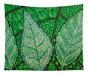 Leaves Of Spring Tapestry