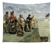 Leaving For Jersey  Tapestry