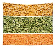 Legumes Triptych Tapestry