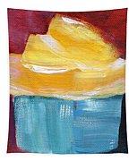 Lemon Cupcake- Art By Linda Woods Tapestry