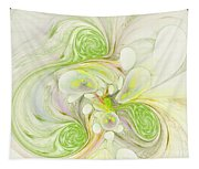Lemon Lime Curly Tapestry