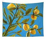 Lemon Tree Tapestry