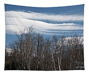 Lenticular Clouds - White Mountains New Hampshire  Tapestry