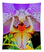 Leopard Dragon Orchid Tapestry