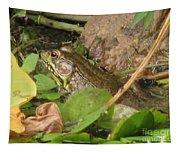 Leopard Frog Tapestry