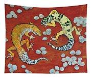 Leopard Geckos Tapestry