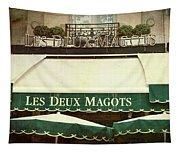 Les Deux Magots - #1 Tapestry