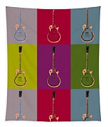 Les Paul Colorful Poster Tapestry