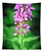 Lesser Purple Fringed Orchid Tapestry