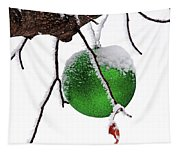 Let It Snow Christmas Ornament Tapestry