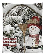 Let It Snow Let It Snow Let It Snow Tapestry