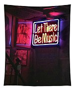 Let There Be Music Tapestry