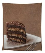 Let Us Eat Cake Tapestry by James W Johnson