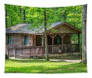 Letchworth State Park Cabin Tapestry