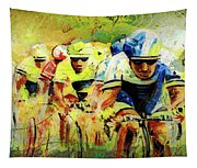Letour De Force Madness Tapestry