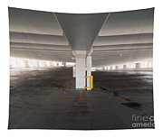 Levels Of A Parking Structure Tapestry