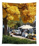 Liberty Farmers Market Tapestry