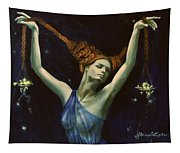 Libra From Zodiac Series Tapestry