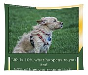 Life Is A Warm Summers Breeze Tapestry