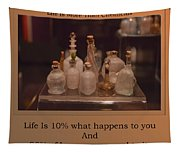 Life Is More Than Chemicals Tapestry