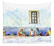 Life On Culatra Island Tapestry