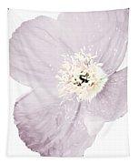 Light Dusty Lavender Poppy Tapestry