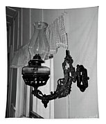 Light From The Past B W Tapestry