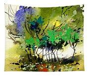 Light In Trees Tapestry