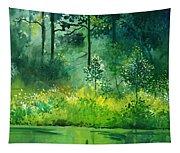 Light N Greens Tapestry