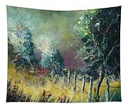 Light On Trees Tapestry
