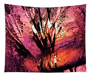 Light Through The Trees  Tapestry