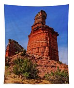 Lighthouse At Palo Duro Canyon Tapestry