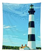 Lighthouse Bodie Island Tapestry